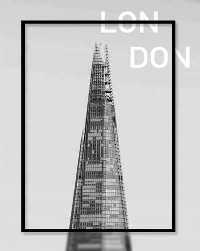 The Shard, London Framed Print - Ustad Home