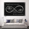 "Deluxe ""WHEN WE HAVE EACH OTHER"" Personalized Canvas - Ustad Home"