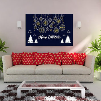 "Beautiful ""MERRY CHRISTMAS"" Canvas"