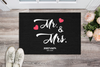 MR & MRS Personalized Doormat