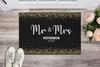Mr. & Mrs. Personalized Doormat