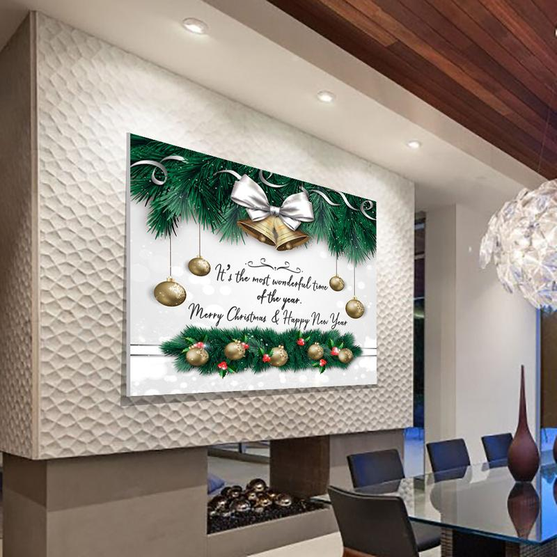 "Amazing ""MERRY CHRISTMAS"" Canvas - Ustad Home"