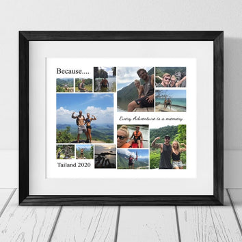 13 HOLIDAY PERSONALISED PHOTO COLLAGE