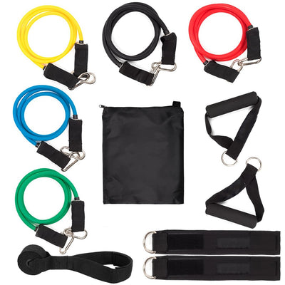11PC RESISTANCE BAND SET - Ustad Home