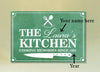 "Exclusive Personalized ""COOKING MEMORIES"" Canvas"