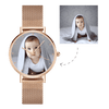 Women's Premium Rose Gold Photo Watch