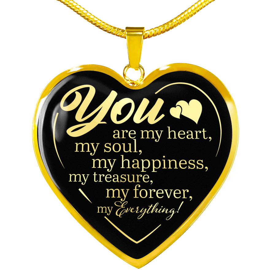 You are my Everything Premium Heart Necklace - Ustad Home