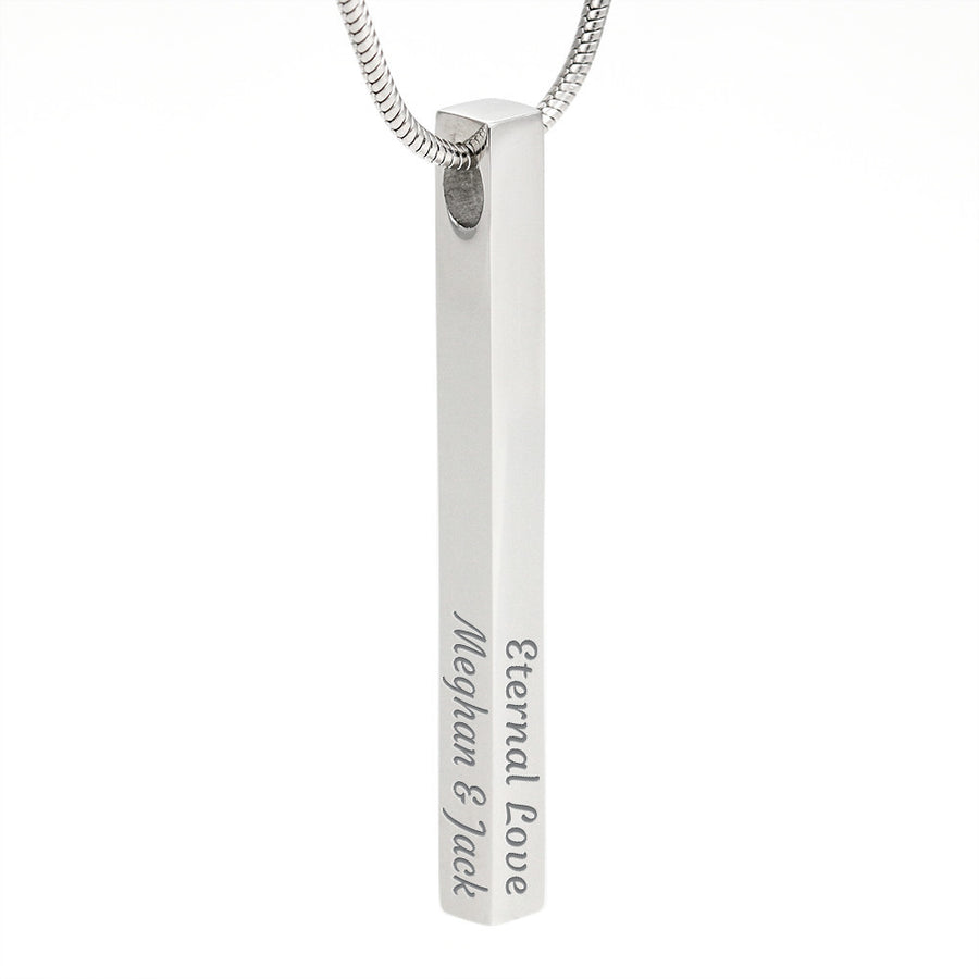 SUPERB PERSONALIZED STICK NECKLACE - Ustad Home