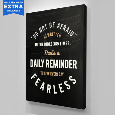 "Inspiring ""Daily Reminder"" Canvas"