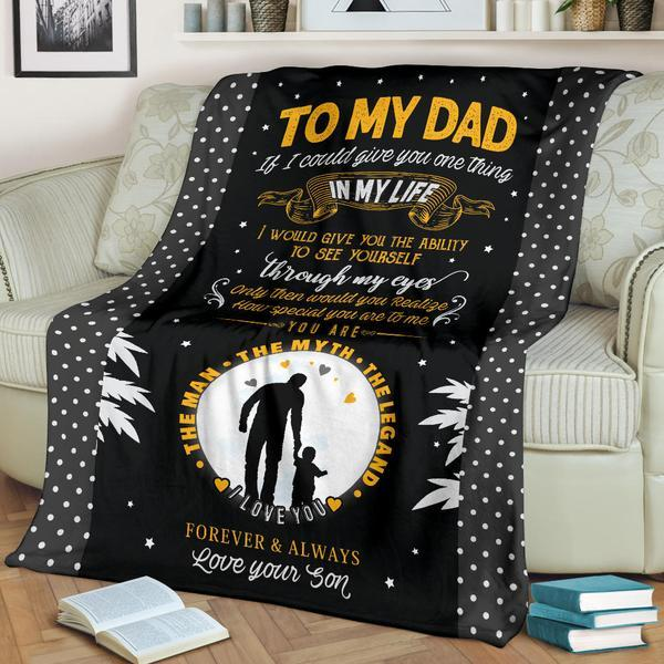 Fancy Special Dad Blanket - Ustad Home