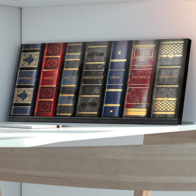 "Fascinating ""Shelf To Success"" Exclusive Canvas - Ustad Home"