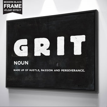 "Inspiring ""Grit"" Canvas"