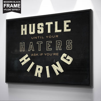 "Awesome ""Hiring"" Canvas"