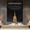 "Inspiring ""Entrepreneur"" Canvas"