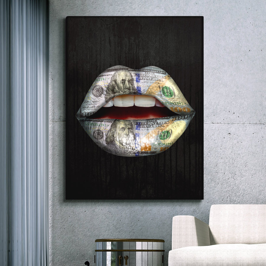 "Awesome ""Expensive Taste"" Canvas - Ustad Home"