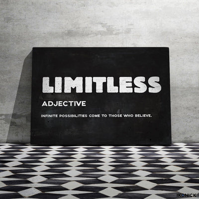 "High-Quality ""Limitless"" Premium Canvas - Ustad Home"