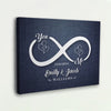 "Enchanting ""INFINITY LOVE"" Exclusive Canvas"