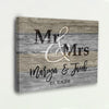 "Luxury ""MR & MRS"" Couple Canvas - Ustad Home"