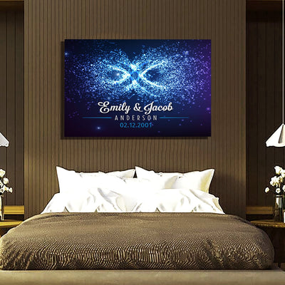 "Deluxe ""OUR LOVE IS LIKE INFINITE"" Canvas"