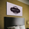 Premium Custom Canvas With Your Names & Date - Ustad Home