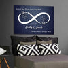 "Exclusive ""YOU & ME INFINITY LOVE"" Canvas - Ustad Home"