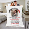 "Premium ""My Gorgeous Wife"" Photo Blanket - Ustad Home"
