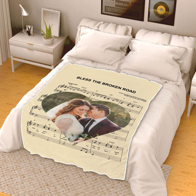 Superb Music Lovers Couple Blanket