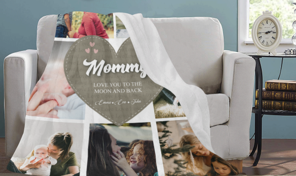 Mommy's Love Premium Blanket - Ustad Home