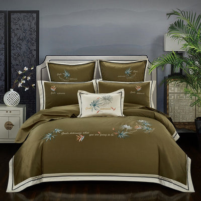 Luxury Egyptian Cotton Classical Bedding set - Ustad Home