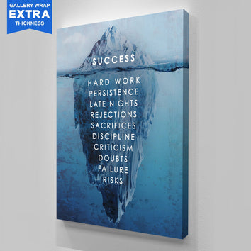 "Premium ""Success"" Canvas"