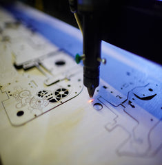 How to use our laser cutting and engraving service