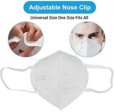 Medical KN95 Folding Protective Mask per piece