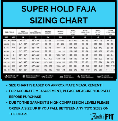 COLUMBIAN SUPER HOLD FAJA (pre-order)