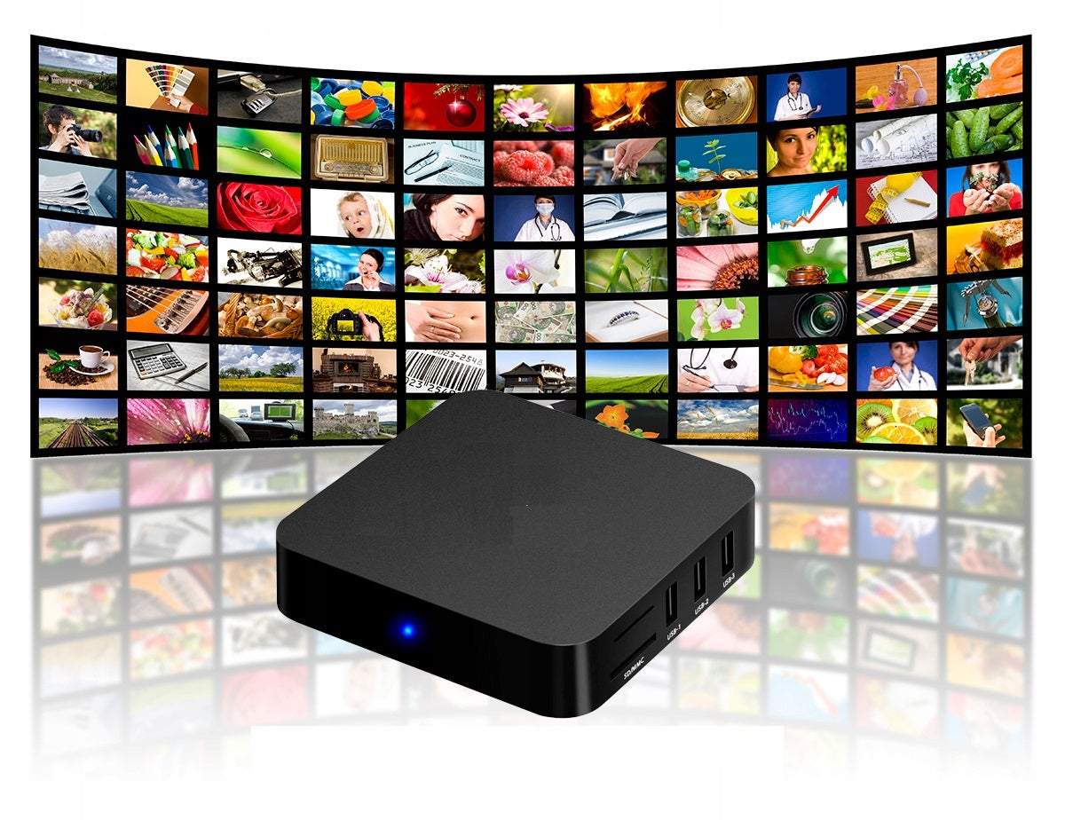 IPTV Smart WEB Box PRO S905W  4K Android 7 (Standard Pack)