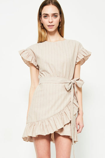 Embry Dress- Nude