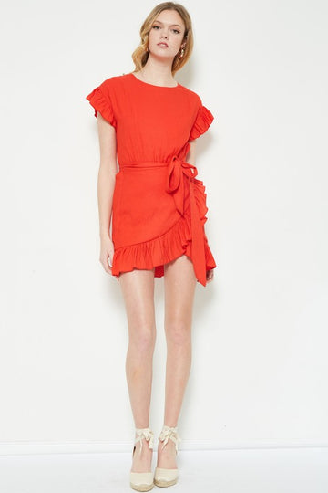 Embry Dress - Burnt Orange