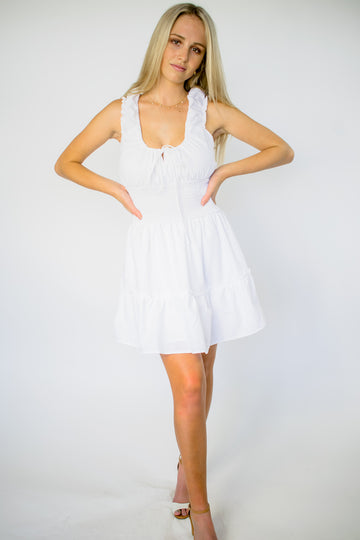 Aiya Dress - White
