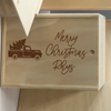 Custom Christmas Keepsake Box