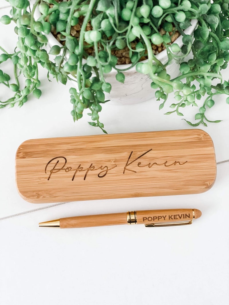 Father's Day Engraved Pen with Box