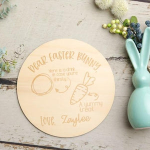 Personalised Easter Bunny Board