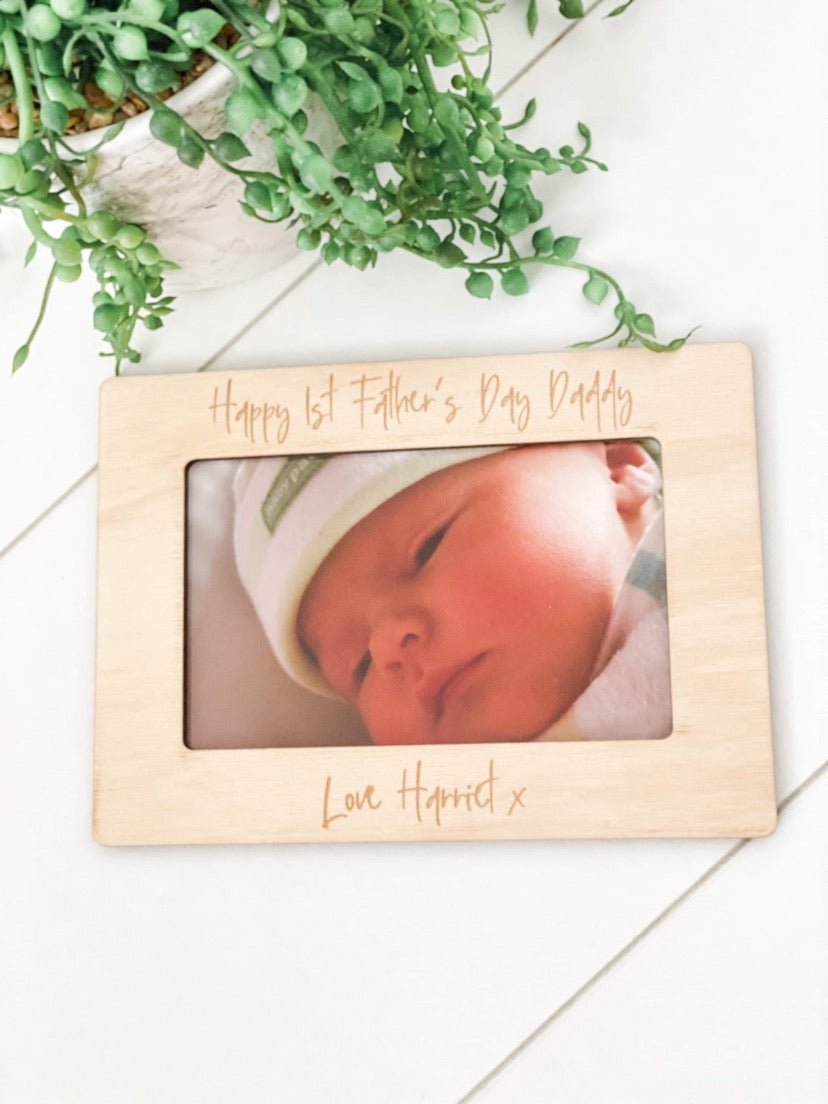 Father's Day Magnetic Photo Frame