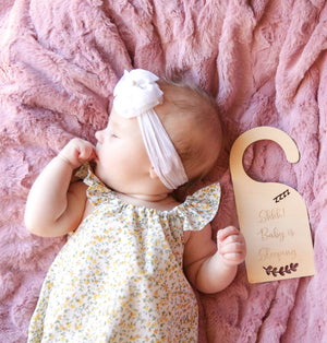 Baby Sleeping Door Hanger