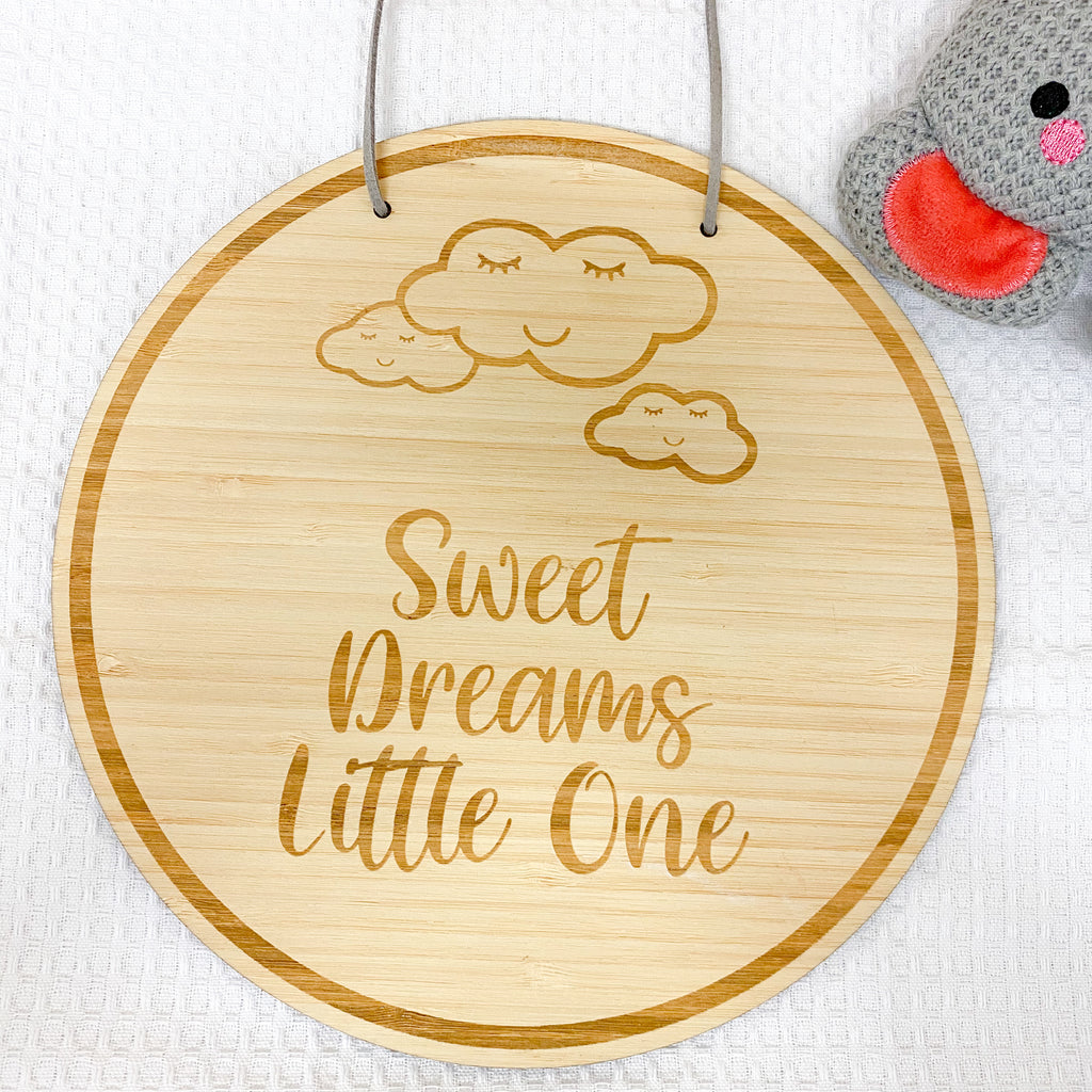 Sweet Dreams Little One Plaque