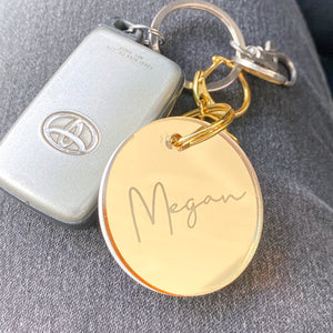 Luxe Mirror Keyring
