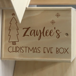 Christmas Eve Keepsake Box