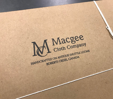 Macgee Cloth Recycled Packaging