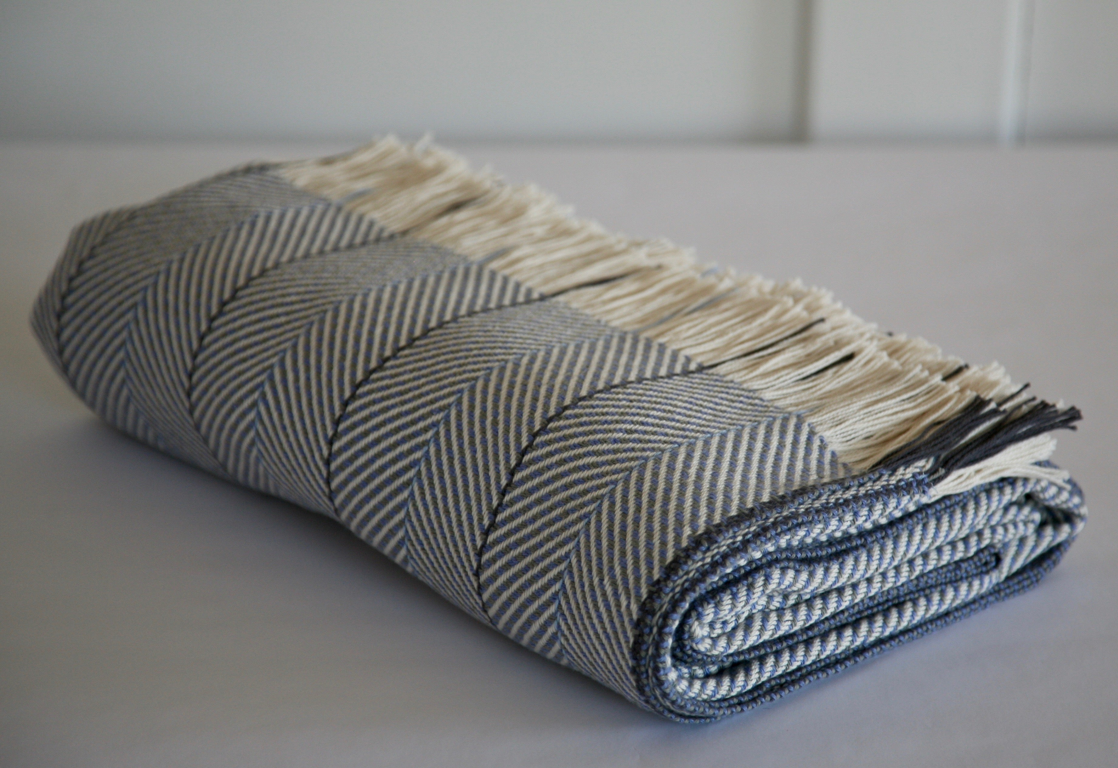 Macgee Cloth organic cotton blanket made in Canada