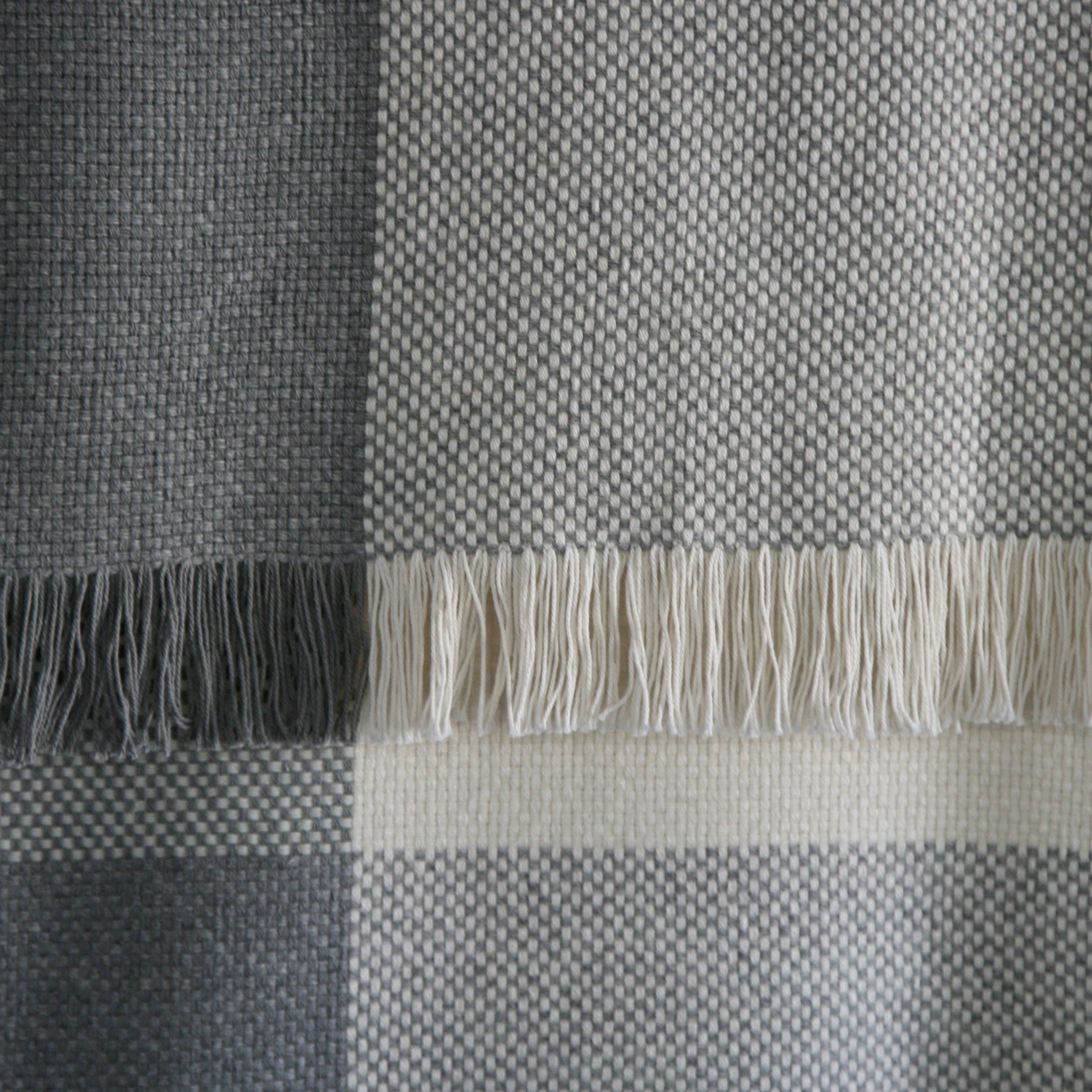 Macgee Cloth cotton wool blanket made in Canada