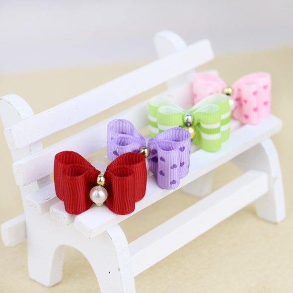 10PCS Handmade Cute Pet Dog Bow - Dtesh Shop
