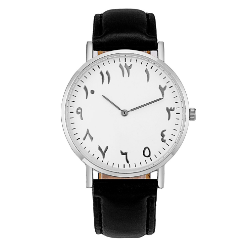 Zayir - Black Leather Watch